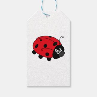 Glückliche Dame Bug Geschenkanhänger