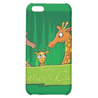 Glückliche der Vatertags-Giraffen
