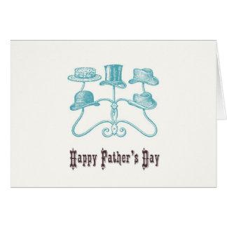 Glückliche der Vatertags-Karte Grußkarte