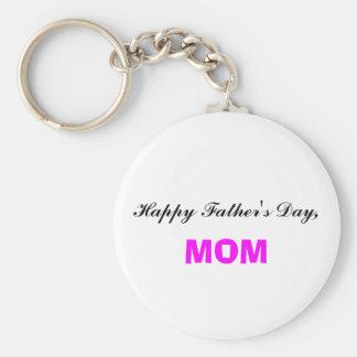 Glückliche der Vatertags-Mamma Keychain Schlüsselband