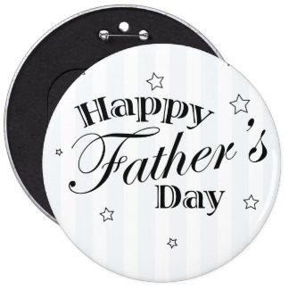 Glückliche der Vatertags-Vati-Geschenk-Idee Runder Button 15,3 Cm