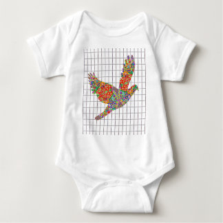 GLÜCKLICHE Engels-Vogel-Beschaffenheit durch Navin Baby Strampler