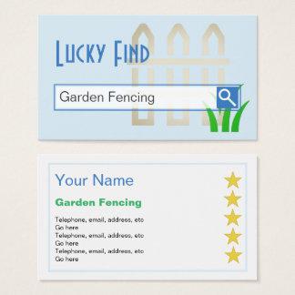 """""""Glückliche Entdeckungs-"""" Garten, der Visitenkarte"""