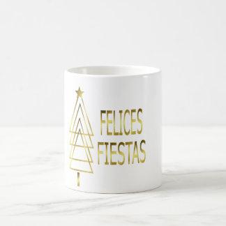Glückliche Feste Kaffeetasse