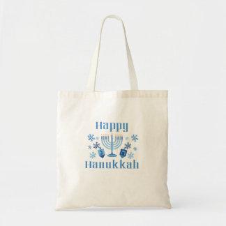 Glückliche festliche Taschen-Tasche Chanukkas Tragetasche