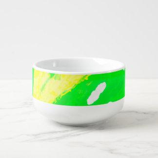 Glückliche Gefühls-Suppen-Tasse Große Suppentasse