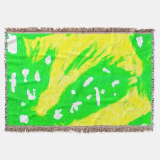 Glückliche Gefühlthrow-Decke Decke
