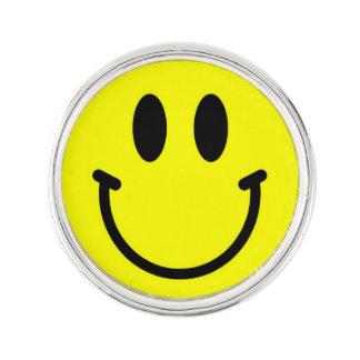 Glückliche Gesichts-Revers-Buttone Anstecknadel