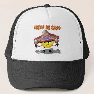 Glückliche Gesichts-T - Shirts und Geschenke Cinco Truckerkappen