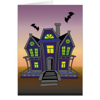 Glückliche Halloween-Geburtstags-Gruß-Karte Grußkarte
