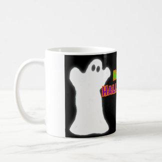 Glückliche Halloween-Geister Kaffeetasse