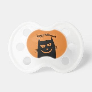 Glückliche Halloween-Katzen-Attrappe Schnuller
