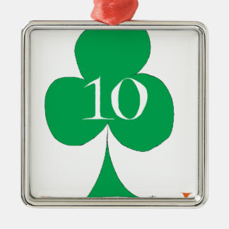 Glückliche Iren 10 der Vereine, tony fernandes Silbernes Ornament