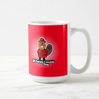 Glückliche Kanada-TagesTasse Kaffeetasse