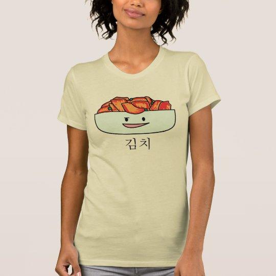 Glückliche Kimchi Kimchee Schüssel - glückliche T-Shirt