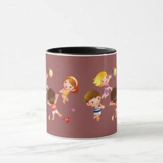 Glückliche Kinder Tasse