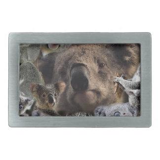Glückliche Koala Rechteckige Gürtelschnalle