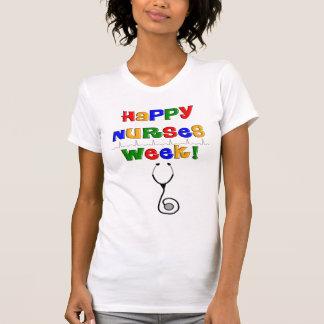 Glückliche Krankenschwester-Woche T-Shirt