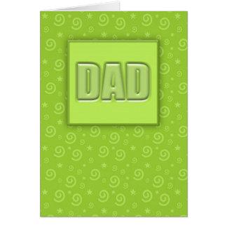 Glückliche (Limone) Karte des Vatertags-#1