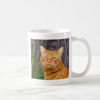 Glückliche Miezekatze Kat! Tasse