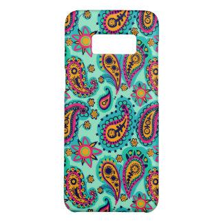 Glückliche Minze und orange Paisley-Muster Case-Mate Samsung Galaxy S8 Hülle