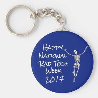 """""""Glückliche nationale krasse Tech-Woche"""" mit dem Schlüsselanhänger"""