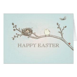 Glückliche Ostern-Karte Grußkarte