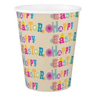 Glückliche Ostern-Party-Schalen Pappbecher