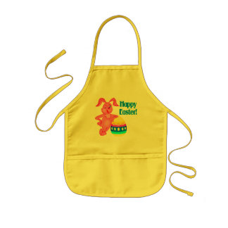 Glückliche Osternt-shirts und -geschenke Kinderschürze