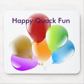 Glückliche Quaken-Spaß-Mausunterlage Mousepad
