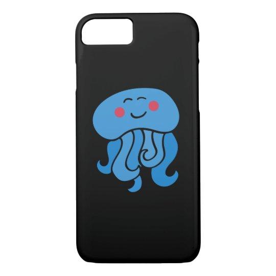 glückliche Quallen iPhone 7 Hülle