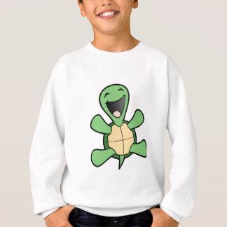 Glückliche Schildkröte Sweatshirt