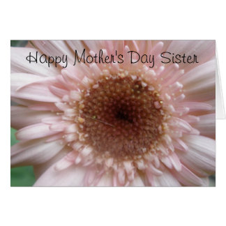 Glückliche Schwester-Karte der Mutter Tages Karte