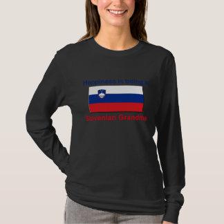 Glückliche slowenisch Großmutter T-Shirt