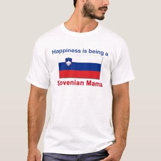 Glückliche slowenisch Mutter T-Shirt