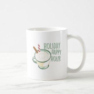 Glückliche Stunde Kaffeetasse