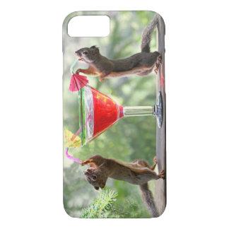 Glückliche Stunden-Eichhörnchen iPhone 7 Hülle