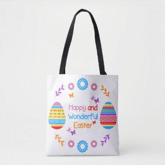 Glückliche und wunderbare Ostern-Taschentasche Tasche