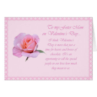 Glückliche Valentinstag-Stiefmutter Karte