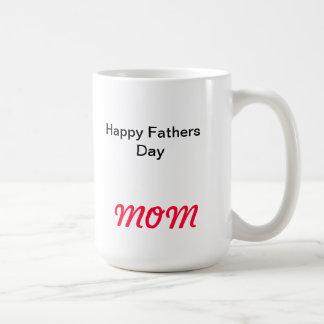 Glückliche Vatertag MAMMA Tasse