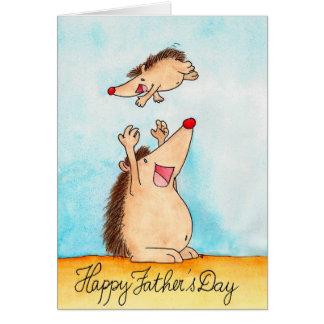 Glückliche Vatertags-Grußkarte durch Nicole Janes Karte