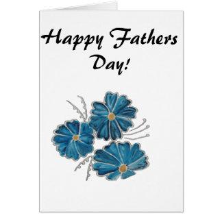 Glückliche Vatertags-Grußkarte Grußkarte