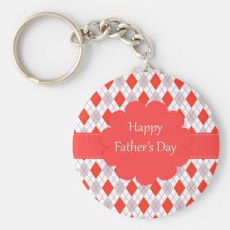 Glückliche Vatertags-Raute Schlüsselband