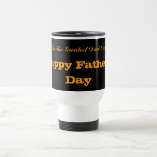 Glückliche Vatertags-Tasse Edelstahl Thermotasse