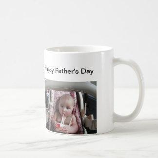 Glückliche Vatertagsanzeige Ihr eigenes Bild Kaffeetasse