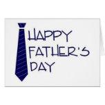 Glückliche Vatertagskarte Grußkarte