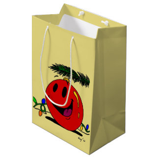 Glückliche Verzierungs-Geschenk-Tasche Mittlere Geschenktüte