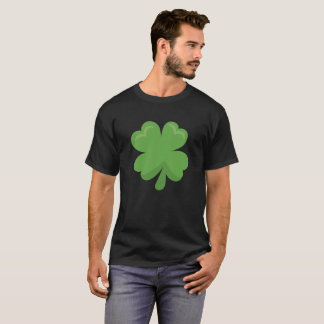 Glücklichen irischen Kleeblatt-St Patrick Tag T-Shirt