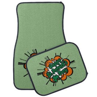 Glücklichen St Patrick Tag Autofußmatte