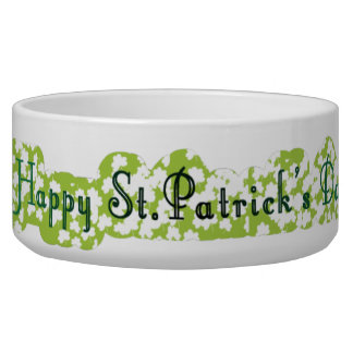 Glücklichen St Patrick Tag! Napf